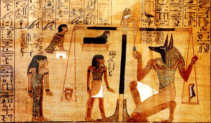 Anubi il protettore del mondo dei defunti