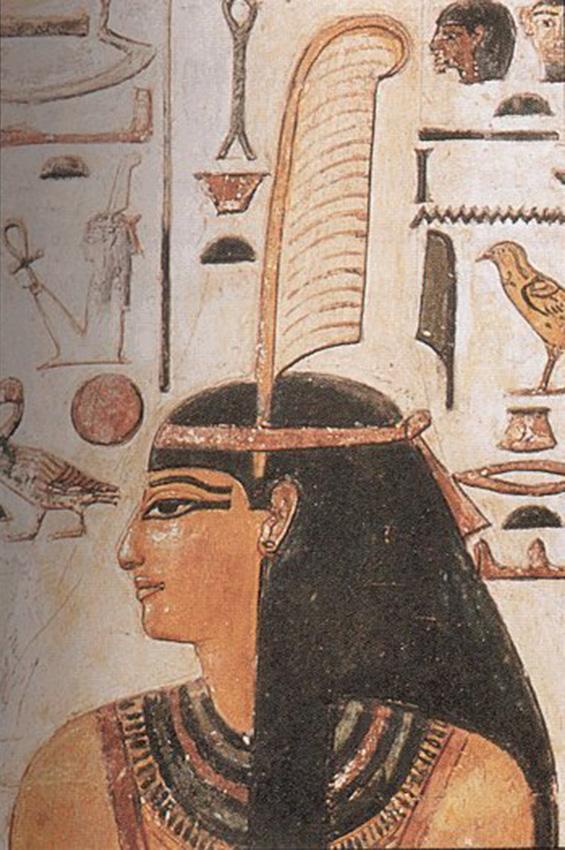 Maat dea egizia della verità e della giustizia