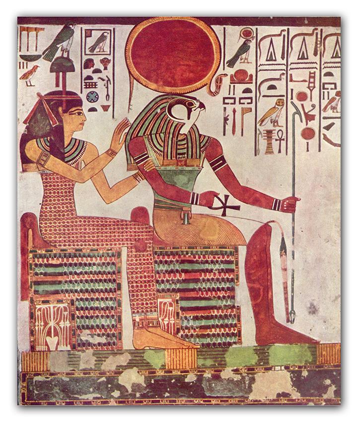 dio Ra e il viaggio per far sorgere il sole