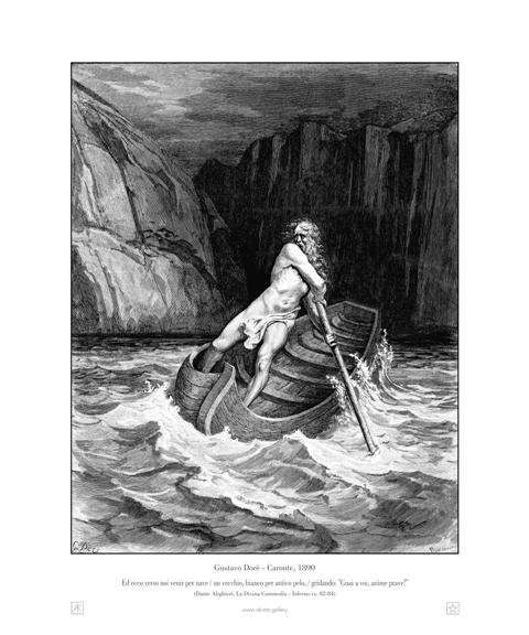 Caronte - Gustave Dorè