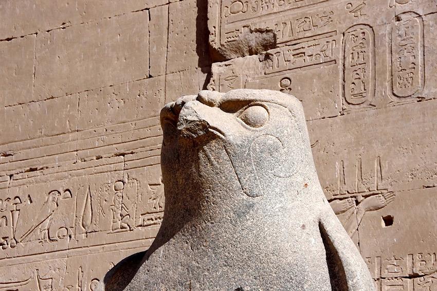Horus il dio falco una delle più antiche divinità egizie