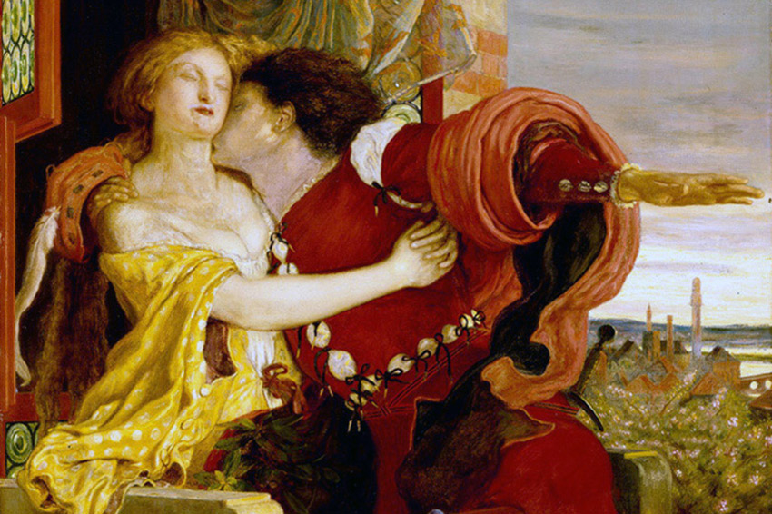 Romeo e Giulietta appassionata e tragica storia amore