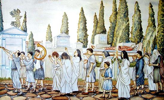 rito funebre romano
