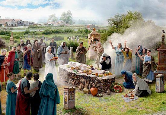 funerale antica roma