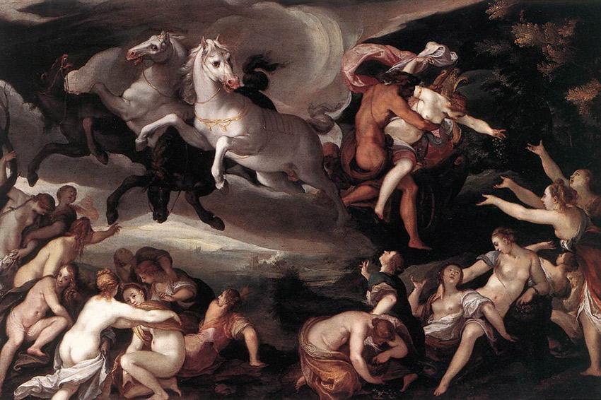 Il mito di Persefone la sposa coatta di Ade re oltretomba