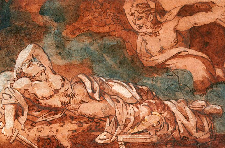 Enea e il suo periglioso viaggio nel regno dell'oltretomba