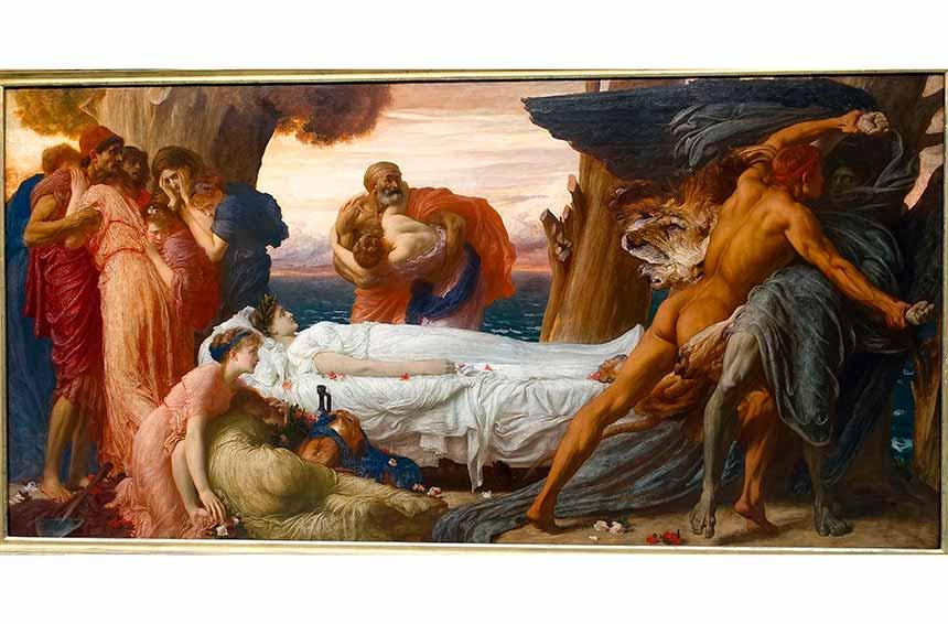 Alcesti eroina mitologica che sacrificò la sua vita per amore