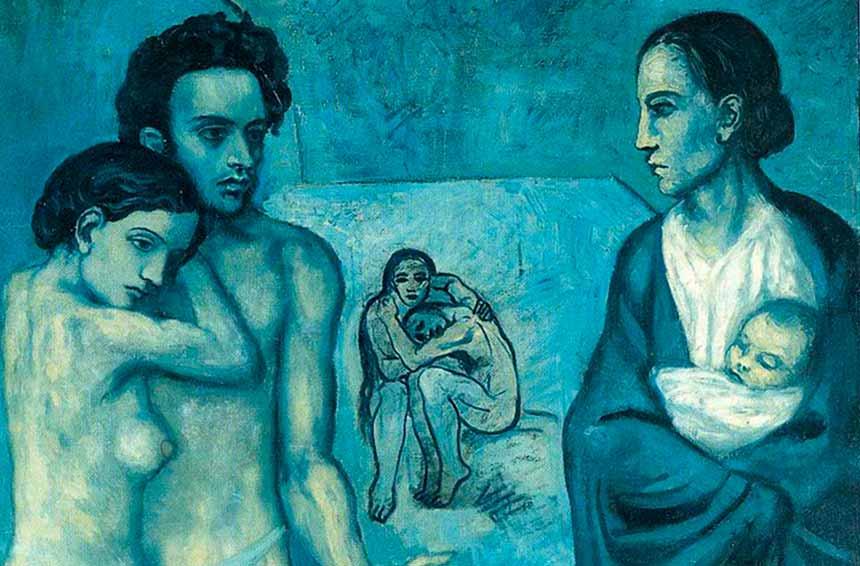 Il periodo blu di Pablo Picasso una fase artistica legata a un grave lutto