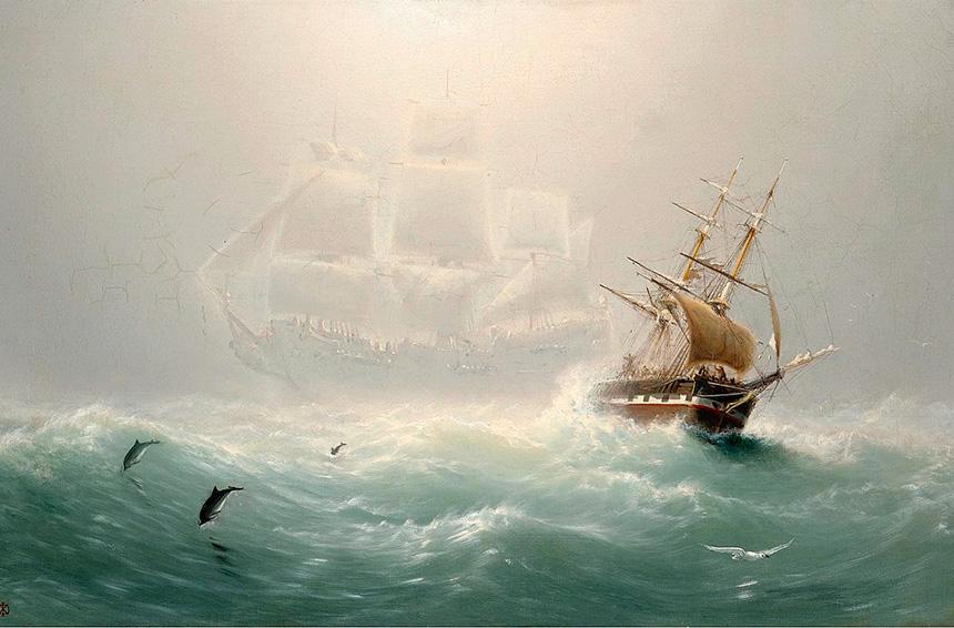 Olandese Volante leggenda di un vascello e di un equipaggio maledetto