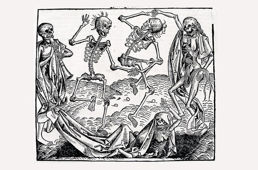 La morte in epoca medievale e la nascita della figura del becchino